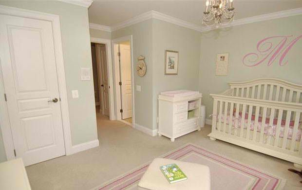 Sage Green Walls Pink Green Nursery Light Green