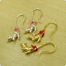 Mouse Earrings by Brough Superior // ねずみピアス【ブラフシューペリア】