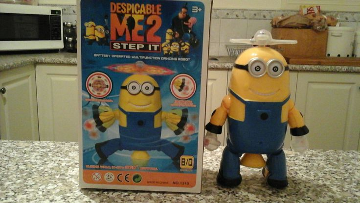 Dancing minion with light and music  $ 15-00