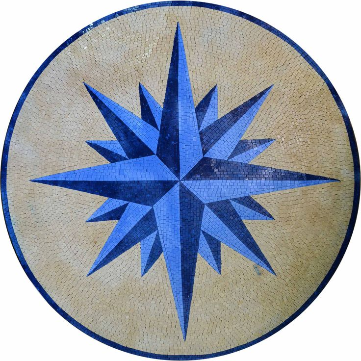 Compass Rose Floor Tile : Best images about compass rose mosaics on pinterest