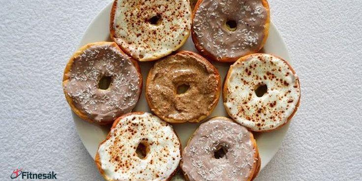 Recept na Donuty s jablkem. Fitnesák   Fitness magazín