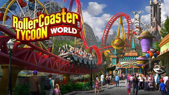 تحميل لعبة Rollercoaster Tycoon world كاملة