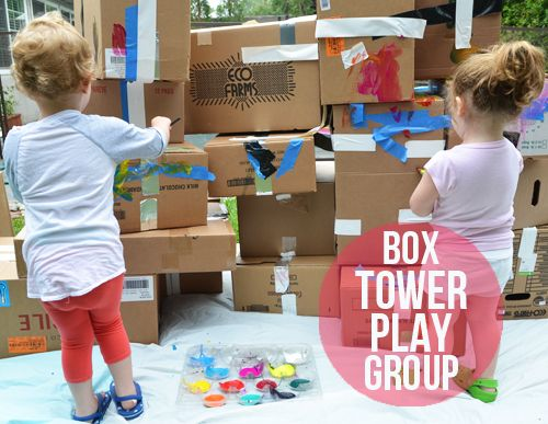 Wehad another fantastic play group this past Sunday. I had seen a cardboard city for kids on starlightjj's Instagram account and was totally inspired. My husband needed a weekend off from my diy projects, however, so I was limited to making it work on my own. I went to Trader Joes early in the morning(...)