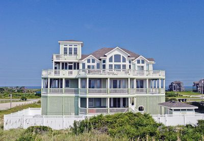 Frisco vacation rentals nauticus oceanfront outer for Hatteras cabins rentals