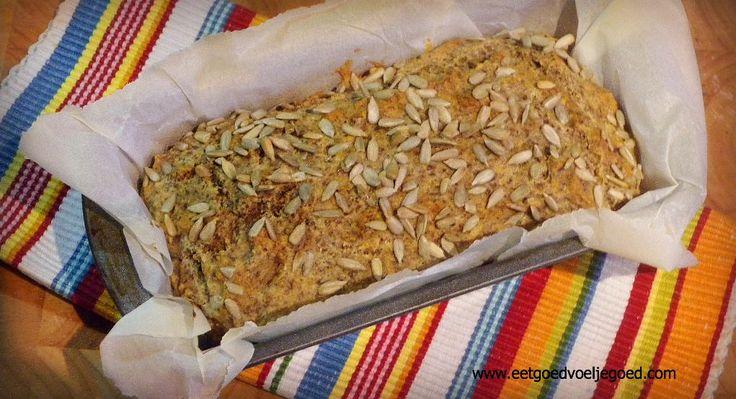 Proteïnebrood Glutenvrij | Het werd weer tijd voor een lekker broodrecept! Dit recept kwam ik op een Duitse site tegen nadat ik iets zocht... geen idee wat.