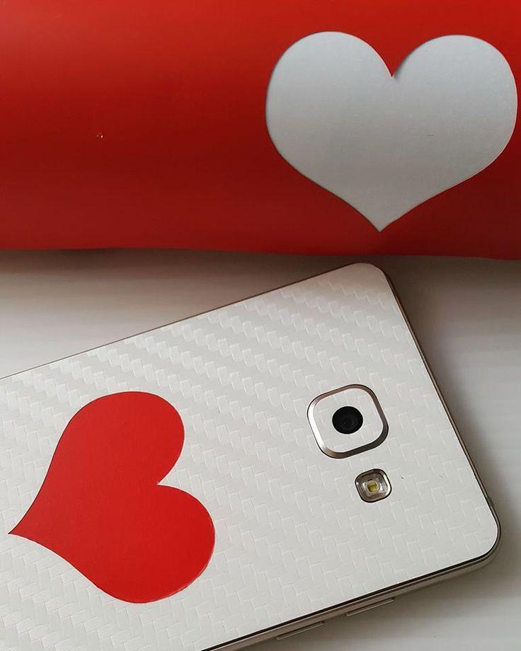 Folii Carbon 3M White Samsung Galaxy A5 (2016)