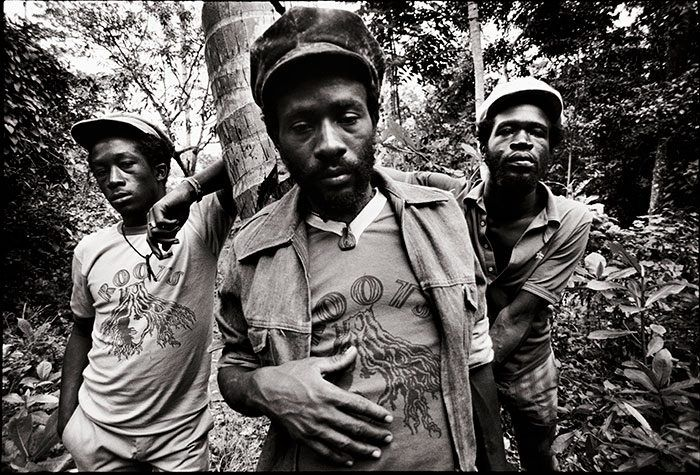 Young Burning Spear