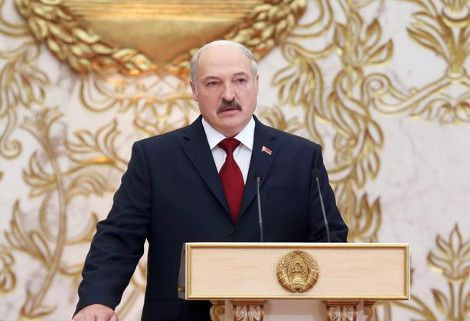 2015 - Alexander Lukashenko takes the oath for his fifth term as president of Belarus. By his critics, Lukashenko is qualified as 'the last dictator in Europe'.