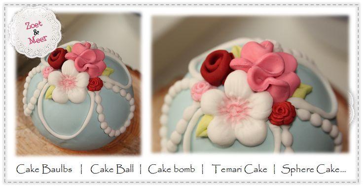 Cake bombs  Sphere cakes
