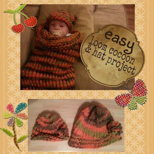 Loom Knit Baby Hat With Brim : Best images about looming on pinterest knitting looms
