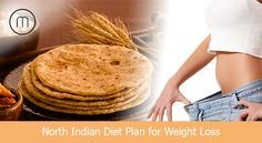 1200 Calories North Indian Diet Plan for Weight Loss