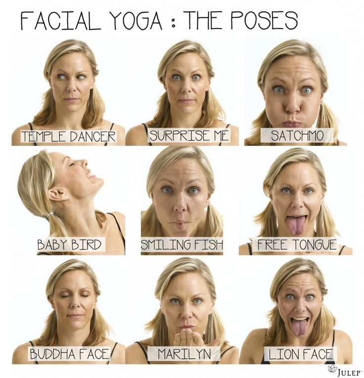 awesome 14 Yoga Exercises For Slimming Your Face
