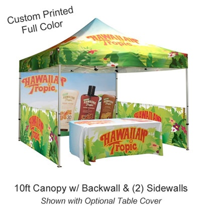 Outdoor EZ Pop Up Canopy Tent 10x10 Custom Printed Canopy Tent Kit - Back wall only  sc 1 st  Pinterest & 16 best Nerium booths images on Pinterest | Nerium Booth ideas ...