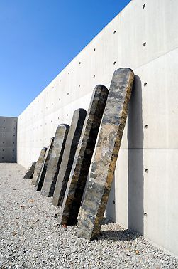 Awesome Stone Sculpture Museum Kubach Wilmsen Foundation Bad Munster Germany by Tadao Ando