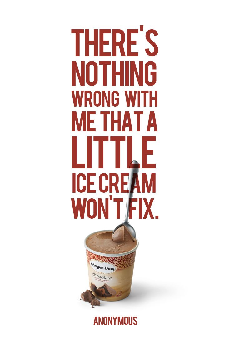A scoop of sweet #HaagenDazs #Inspiration.