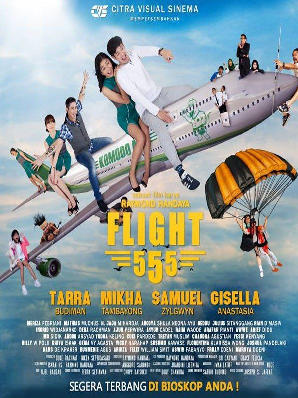 Film Flight 555 - Film Komedi Indonesia - Film Bioskop Terbaru 2017