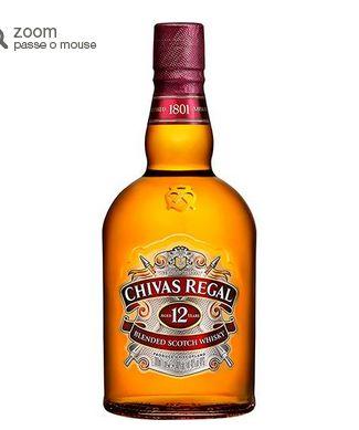 Whisky Chivas Regal 12 Anos - 1L << R$ 8999 >>