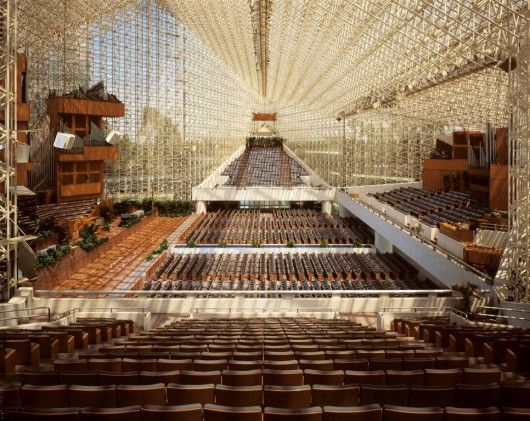 AD Classics: The Crystal Cathedral / Philip Johnson | ArchDaily