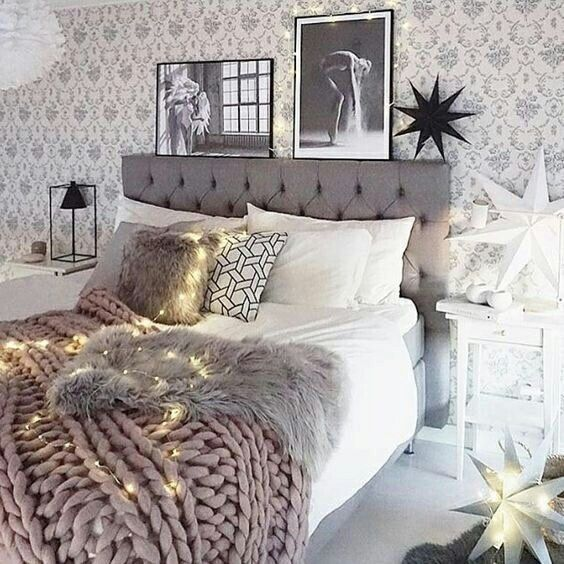 Top 60 Best Grey Bedroom Ideas: 119 Best Images About FAIRY LIGHTS ️ On Pinterest