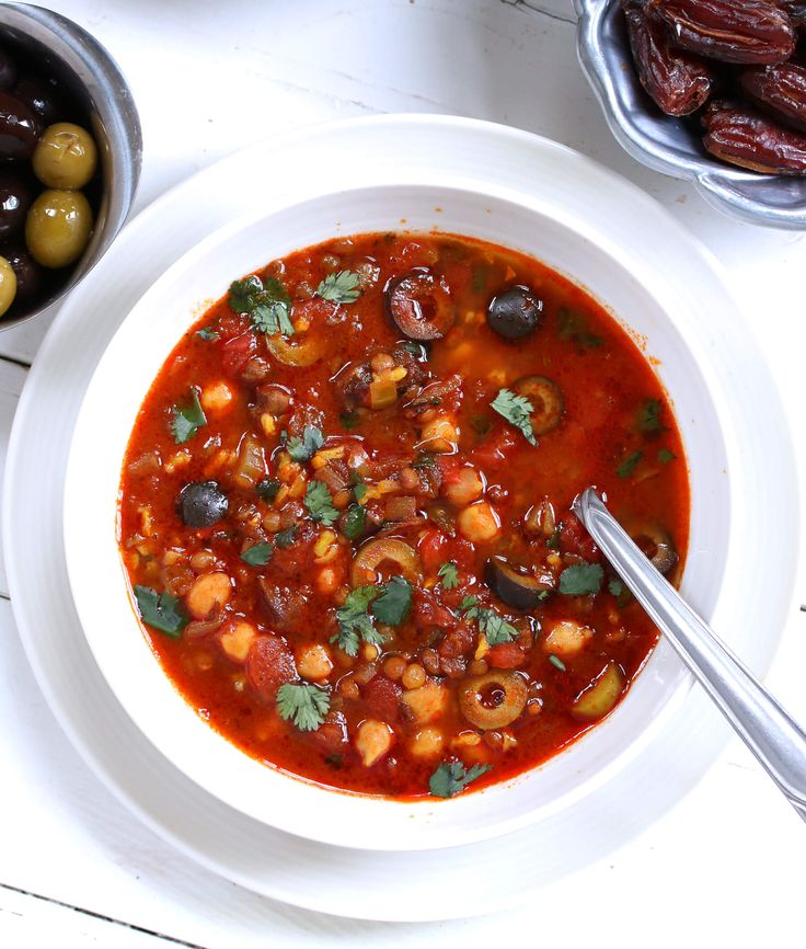Harira is the national soup of Morocco and has an incredibly rich and delicious flavor. It's no wonder it's so popular, it's downright amazing!