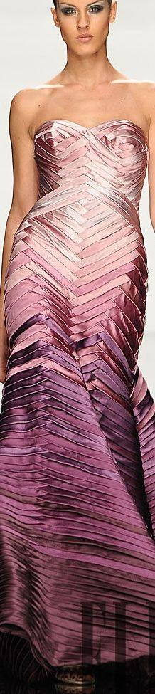 Rami al Ali  Satins fades from light to dark; can't imagine difficulty level of these fabric folds