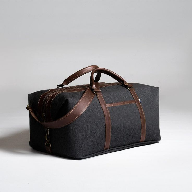 The Forge Weekender in slate by Mother Co. Made in Canada  - $169