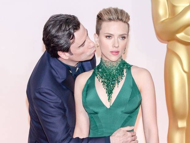John Travolta: The behind-the-scenes Oscars pictures you weren't shown - People - News - The Independent