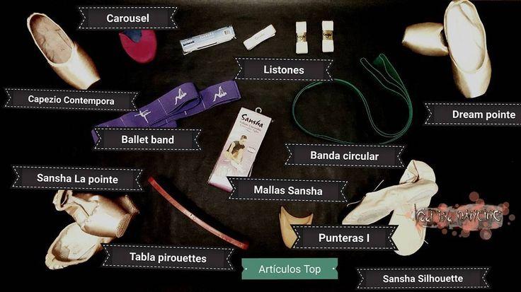 Nuestros Top artículos Visita nuestra tienda de ballet online y compralos Link en bio  #feellikedancing #tiendadeballet #ballet #puntasdeballet #accesoriosdeballet