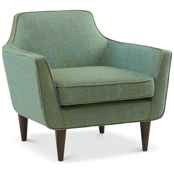 Deklin Accent Chair found on Polyvore featuring home, furniture, chairs, accent chairs and plush chair