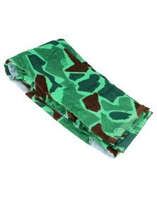 Urban Beach Freemont Beach Towel Camo