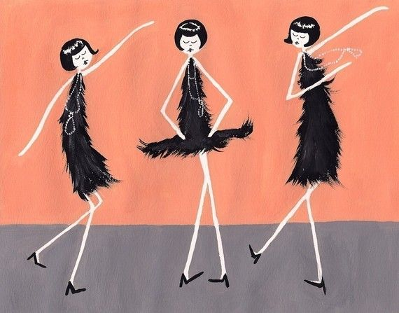 1920s Flapper // Eloise, Ramona and Clarissa dance the Charleston