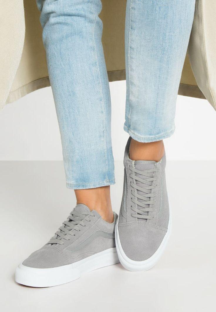 Femme Vans OLD SKOOL - Baskets basses - gray/true white gris: 90,00 € chez…