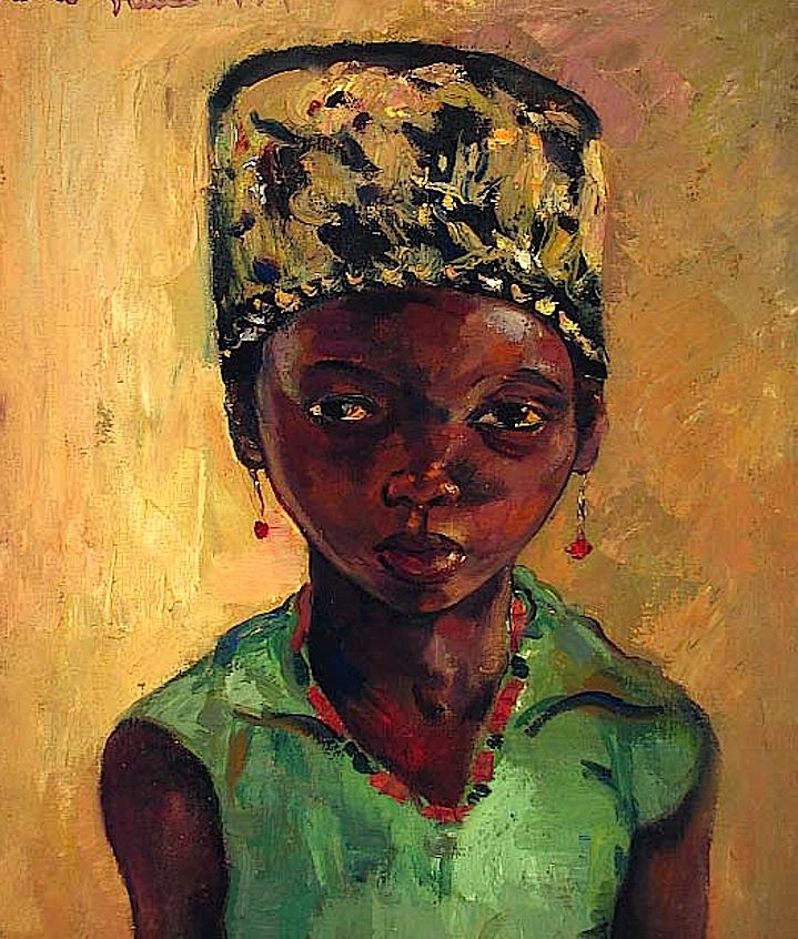 Portrait of a Young Girl, 1939 Irma Stern