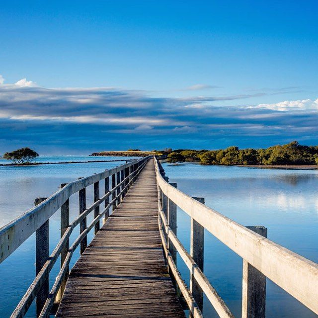Wow! I've just been for a stroll along the most incredible board walk, it leads all the way to the beach! Cafes, restaurants, golf, tennis - this place is great! Dinner at the iconic Ocean View Hotel tonight, I can't wait. #NorthCoastParks #Urunga