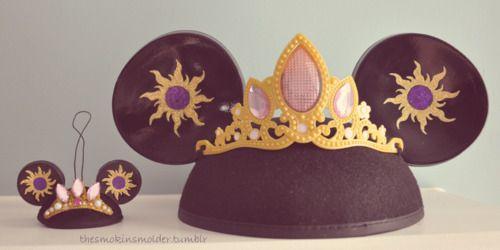 Rapunzel Mickey ears | Simply Disney | Pinterest ...