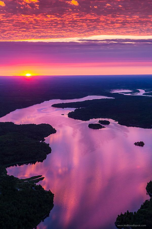 ~~2000 feet Sunrise ~ Abitibi-Temiscamingue, Quebec, Canada by Mathieu Dupuis~~
