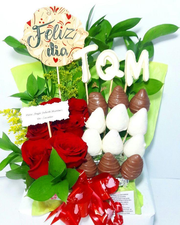 LYRA TQM ❤❤ @happydealer.co  #disfrutame #happydealer #fresasconchocolate #arreglosfrutales  #floresbogota #regalosbogota#regalospersonalizados#regalossorpresa#regalocumpleaños#regaloaniversario Contacto Whatsapp 3115893953