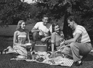 No Ants Were Harmed At These Picnics Of The Past