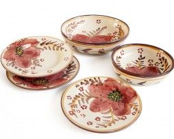 A finest Italian dinnerware for your exclusive home. Buy it on ceramicherobustella.com