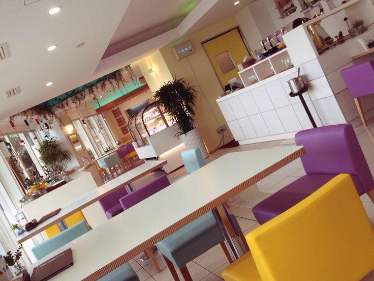 Beach terrace cafe