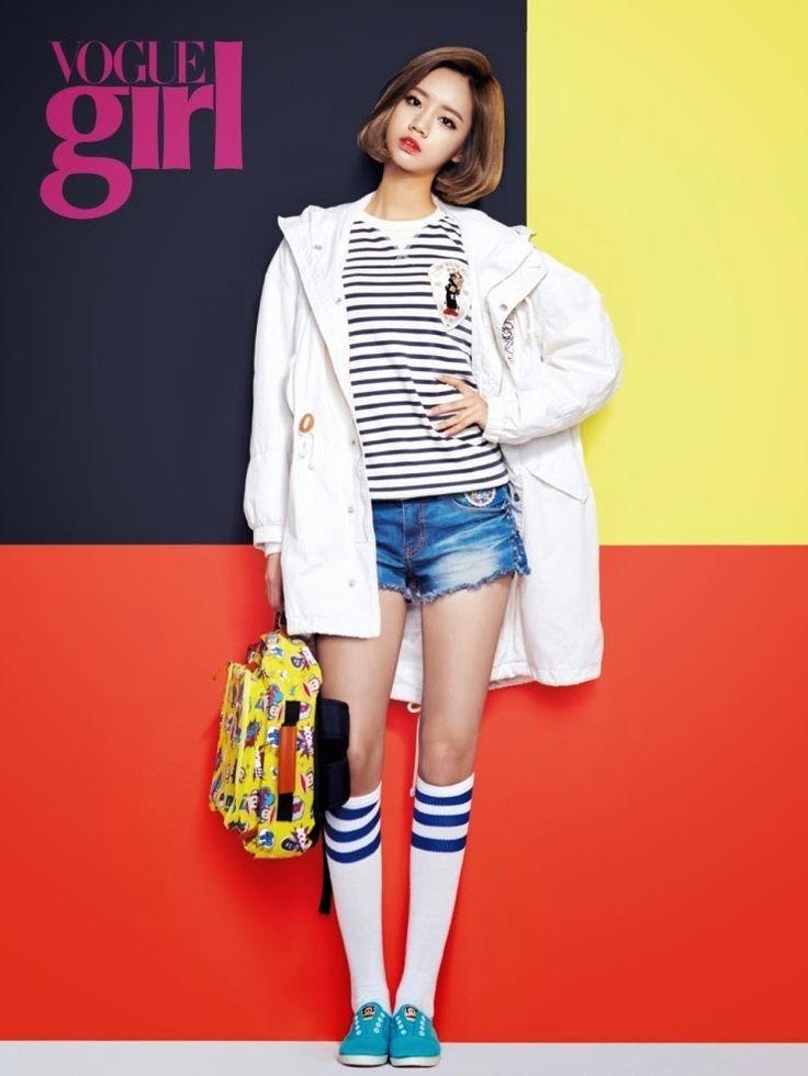 Hyeri Girl's Day Vogue Girl March 2014