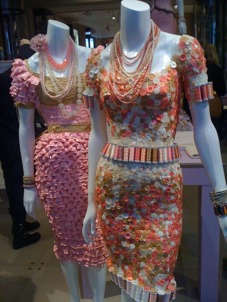 the button dress!