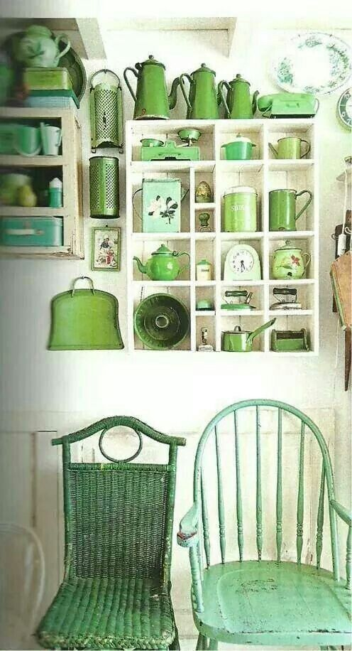 Green~I love green - look at all the different yummy shades of green