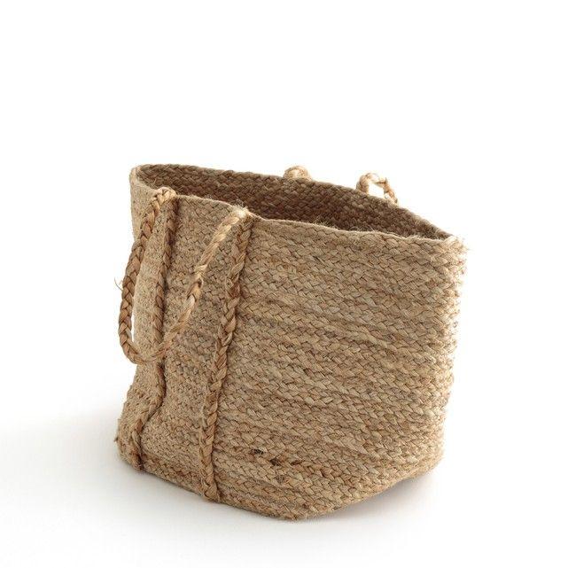Image Naturalle 100% Jute Shopping Bag La Redoute Interieurs
