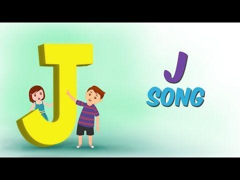 Kids Learning Videos: The Letter J Song - Alphabet Songs for kids - Nurs...
