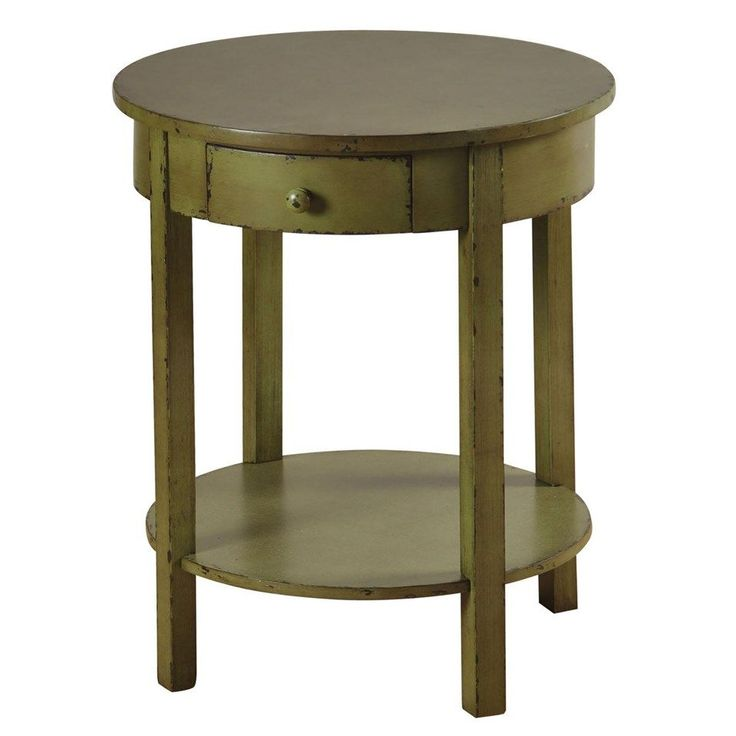 We Love This Green Accent Table For A Pop Of Spring Color   Under $100!