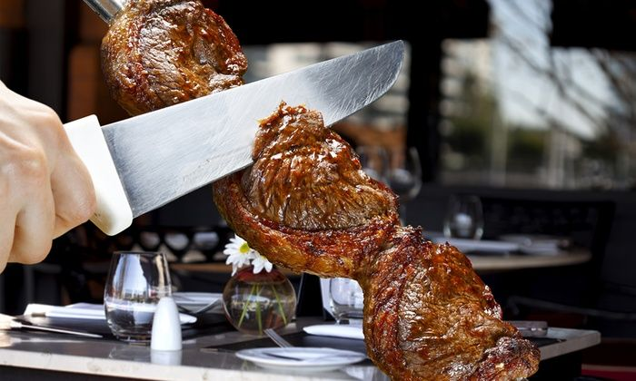 The Grill from Ipanema - Downtown Seattle: The Grill from Ipanema: Brazilian Steak-House Cuisine for Lunch or Dinner (Up to 53% off)