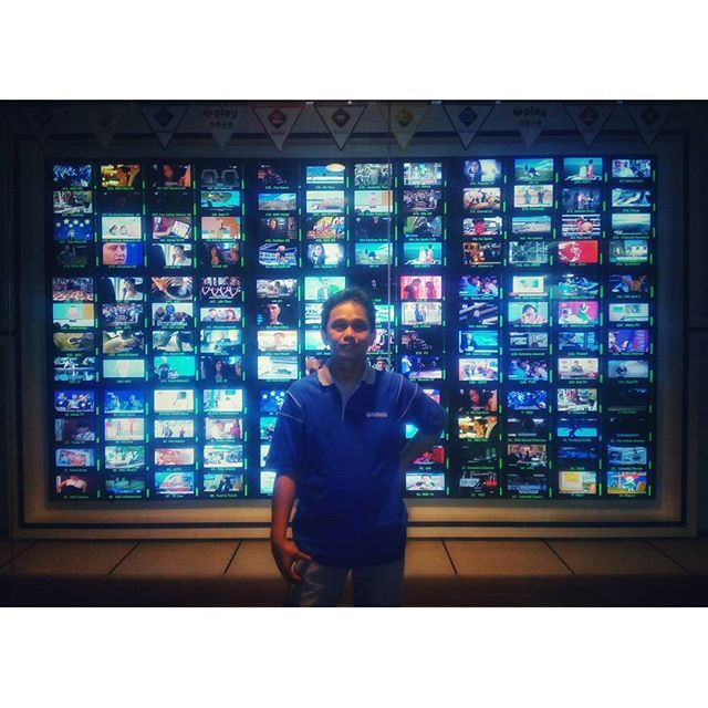 WEBSTA @ jakaanindita - Take your pick #tvstation #architecture #instajakarta #love #television #tagsforlikes #office