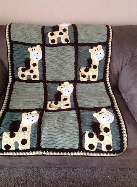 Ravelry: Zoo Blanket Base Pattern (not including appliques) pattern by Teri Heathcote