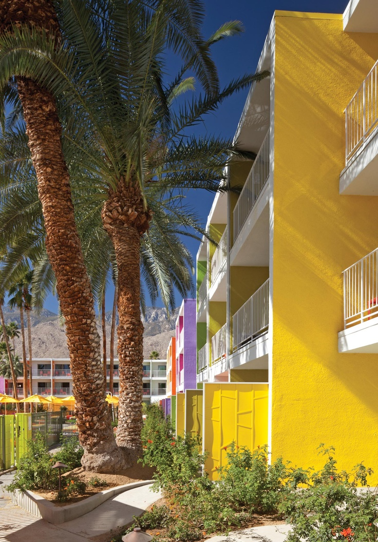 58 best images about architecture hotels and motels on for Palm springs strip hotels